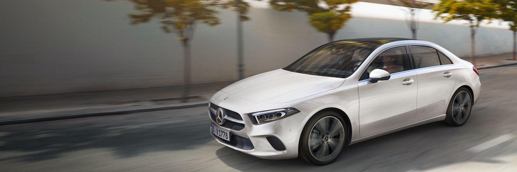 Mercedes-Benz A-Class Saloon: Highlights