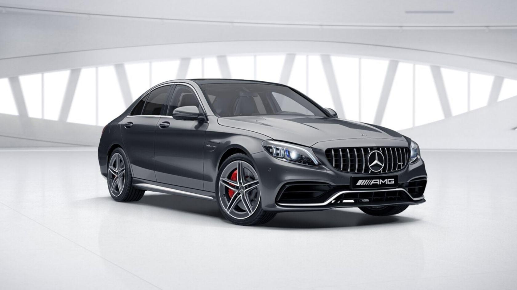 Mercedes Benz C Class Saloon Models And Equipment