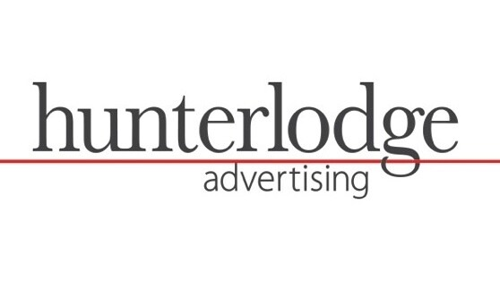 Hunterlodge advertising logo