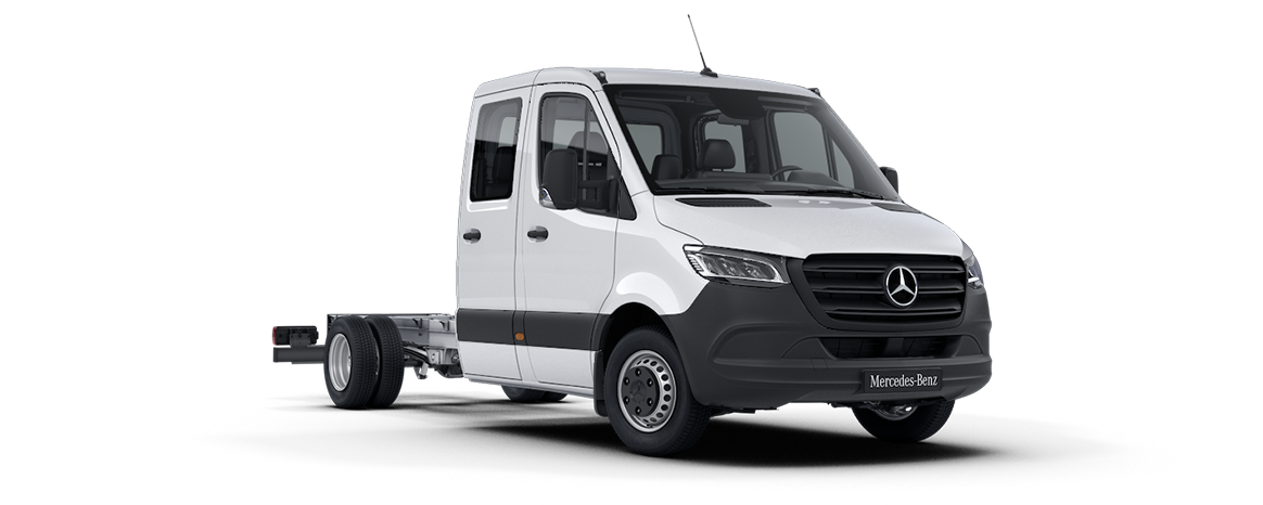 Sprinter Chassis, White arctic