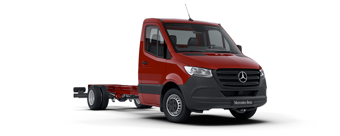 Sprinter Chassis, Jupiter red