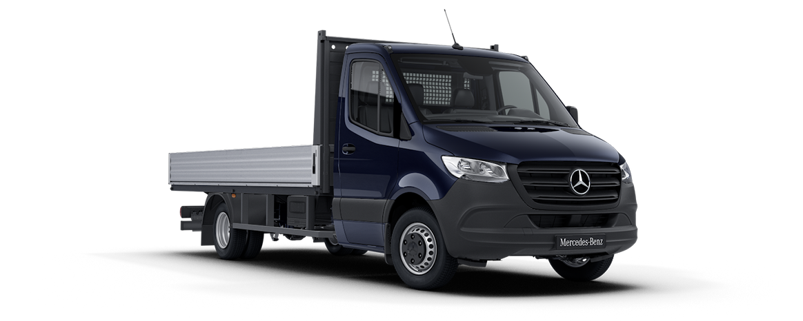 Sprinter Dropside Cavansite Blue Metallic