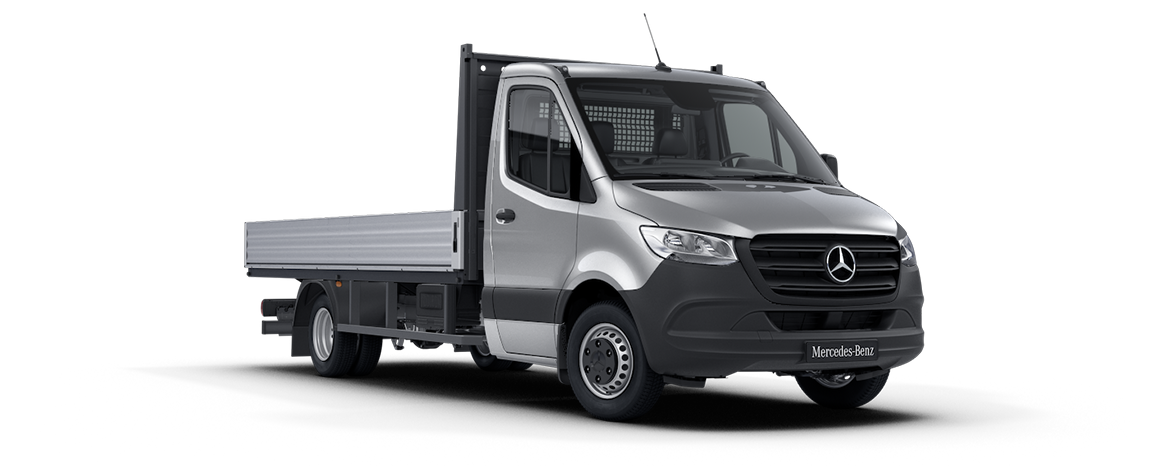 Sprinter Dropside Iridium Silver Metallic