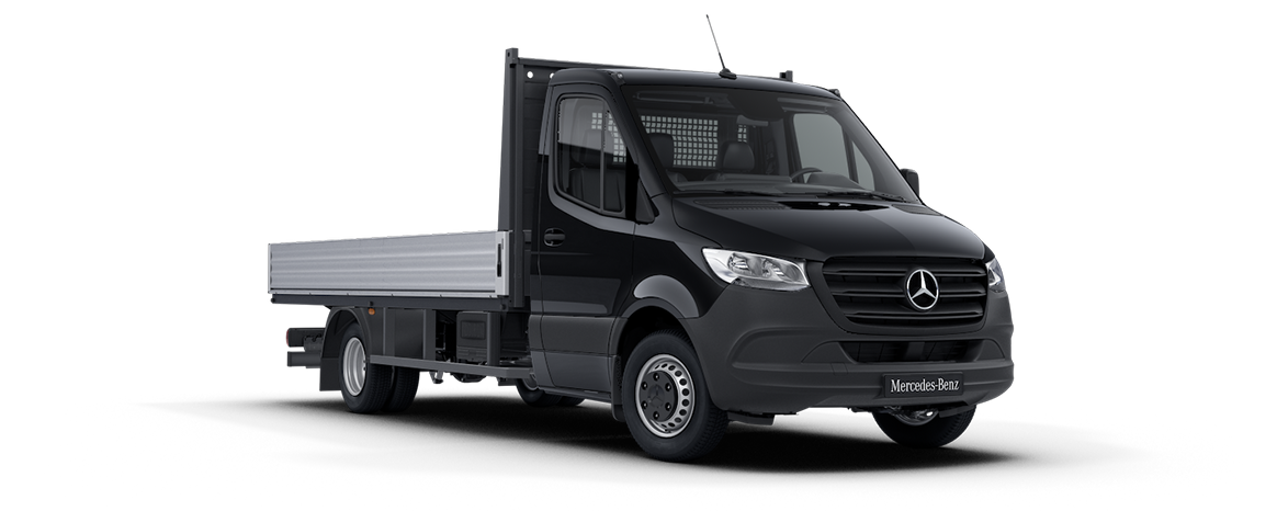 Sprinter Dropside Obsidian Black Metallic