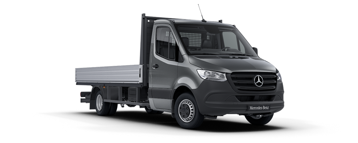 Sprinter Dropside Selenite Grey Metallic
