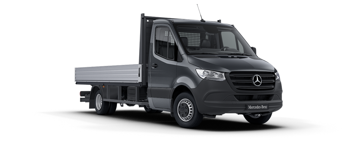 Sprinter Dropside Tenorite Grey Metallic