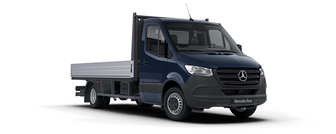 Sprinter Dropside Blue Grey