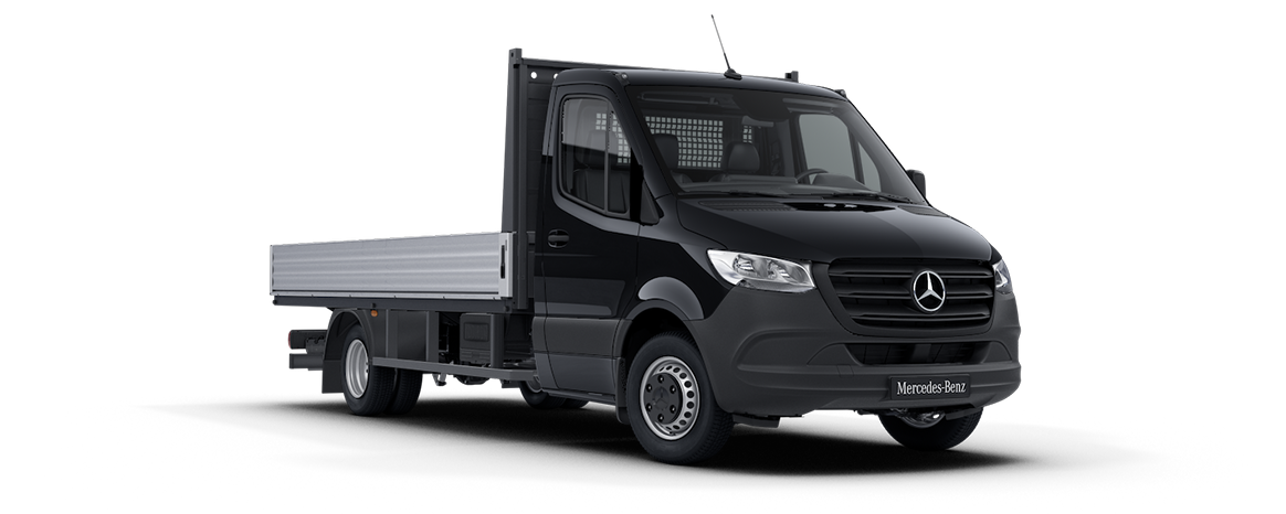 Sprinter Dropside Jet Black