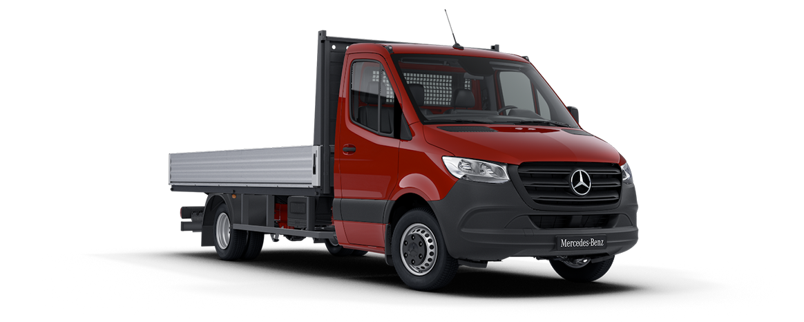 Sprinter Dropside Jupiter Red