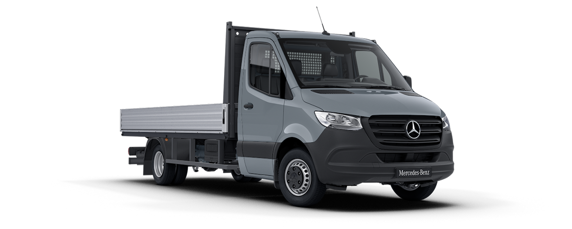 Sprinter Dropside Steel Blue