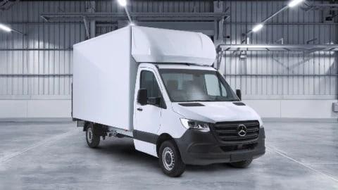 Sprinter Luton | Mercedes-Benz Vans