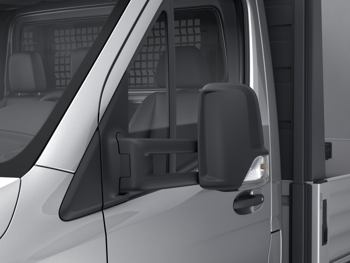 Sprinter Panel Van, extended mirror brackets