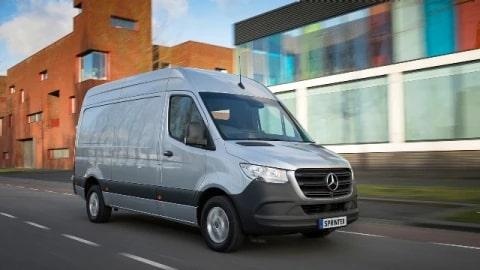 Mercedes Benz Vans >> Sprinter Panel Van Mercedes Benz Vans