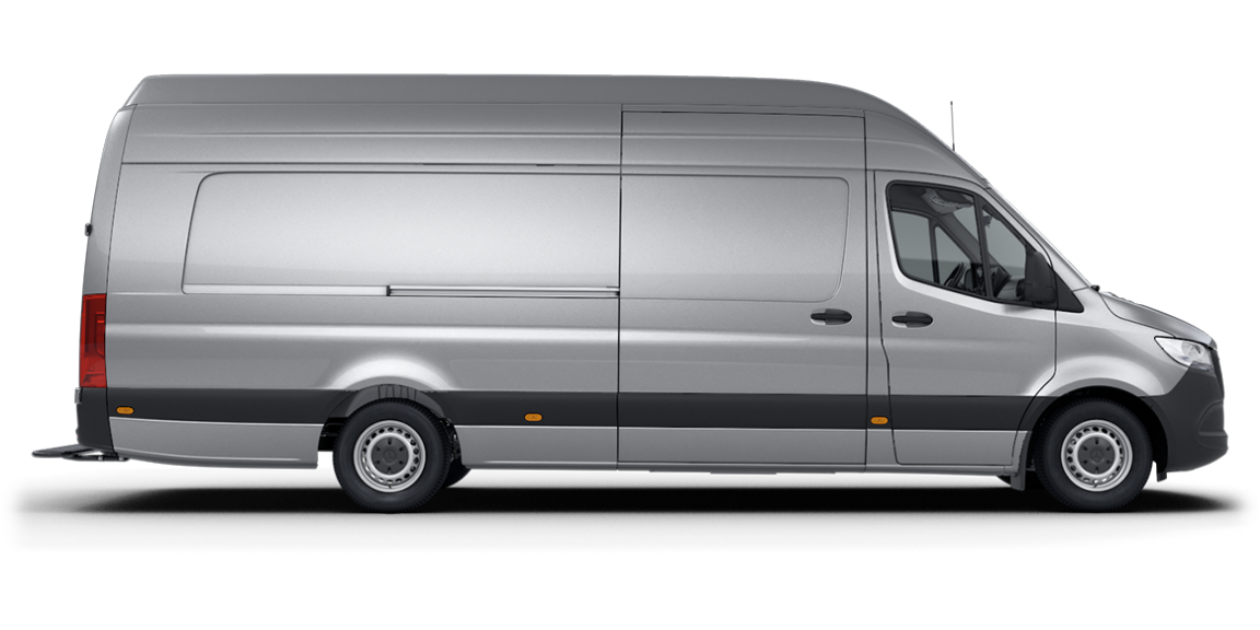Sprinter Panel Van, super-high roof, 4325-mm wheelbase, 2015-mm overhang