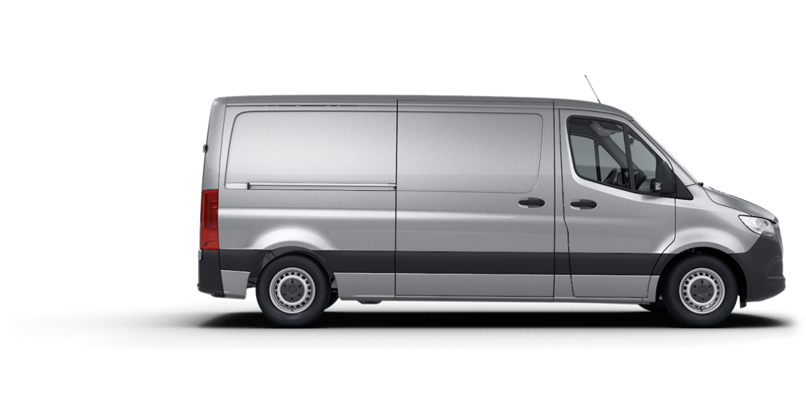 Sprinter Panel Van, standard roof height, 3665-mm wheelbase