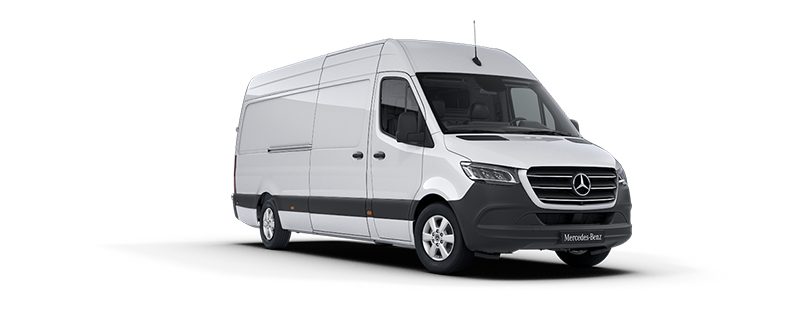 Sprinter Panel Van, Arctic white