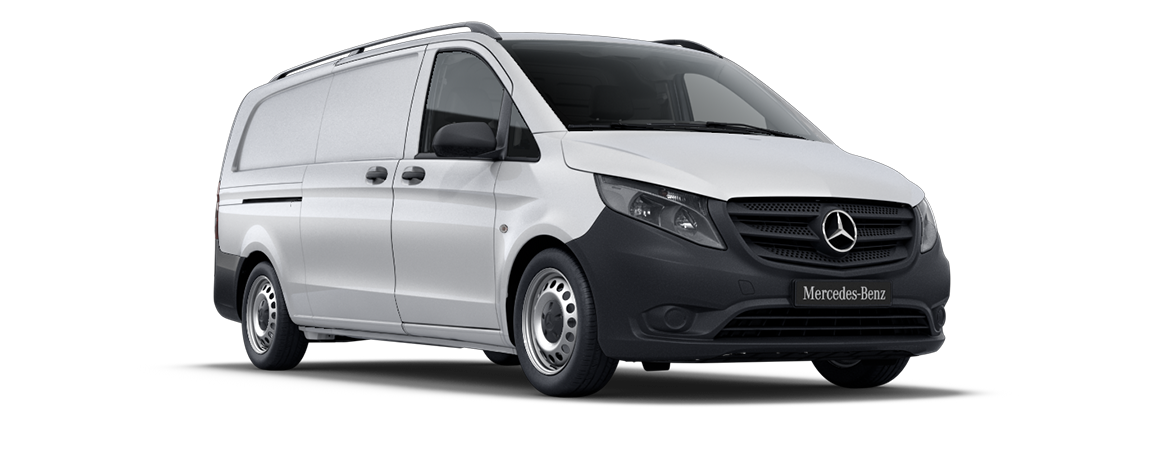 Vito panel van, arctic white