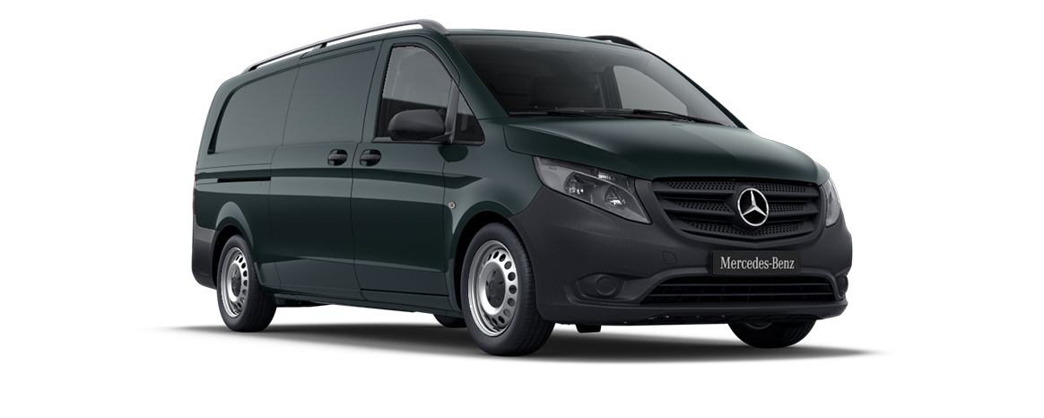 Vito panel van, granite green