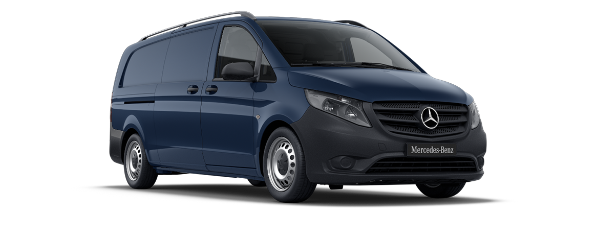 Vito panel van, navy blue