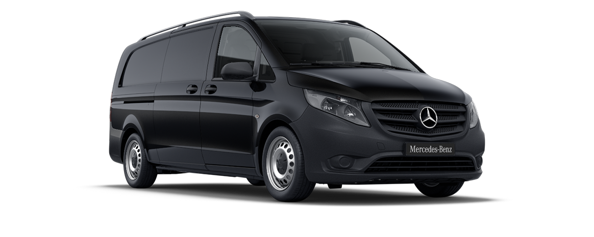 Vito panel van, obsidian black