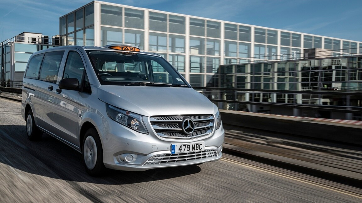 The Vito Taxi: flexibility as standard